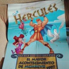 Cinema: CARTEL PELICULA HERCULES. GRAN FORMATO 100X60CM.. Lote 199909953