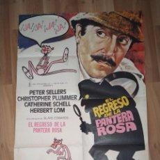 Cine: CARTEL PELÍCULA EL REGRESO DE LA PANTERA ROSA. 100X70 CM . Lote 199916287