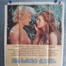 Cine: EL LAGO AZUL. BROOKE SHIELDS. AÑO 1980. POSTER ORIGINAL. Lote 199952170