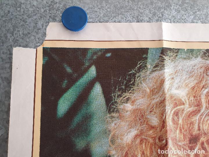 Cine: EL LAGO AZUL. BROOKE SHIELDS. AÑO 1980. POSTER ORIGINAL - Foto 2 - 199952170