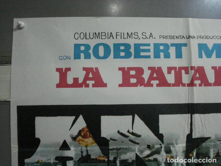 Cine: CDO 1310 LA BATALLA DE ANZIO ROBERT MITCHUM PETER FALK ROBERT RYAN POSTER ORIGINAL 70X100 ESTRENO - Foto 2 - 200356868