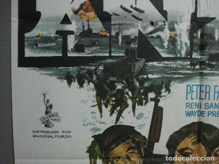 Cine: CDO 1310 LA BATALLA DE ANZIO ROBERT MITCHUM PETER FALK ROBERT RYAN POSTER ORIGINAL 70X100 ESTRENO - Foto 3 - 200356868