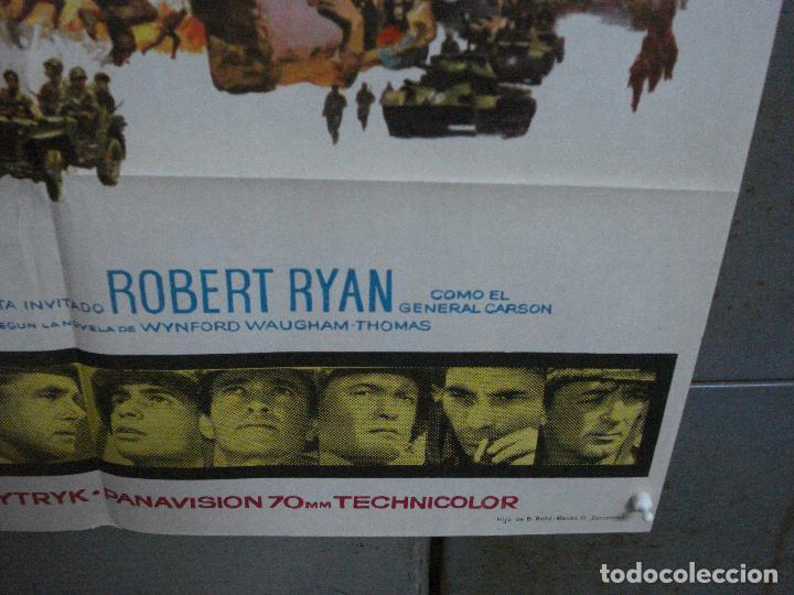Cine: CDO 1310 LA BATALLA DE ANZIO ROBERT MITCHUM PETER FALK ROBERT RYAN POSTER ORIGINAL 70X100 ESTRENO - Foto 9 - 200356868