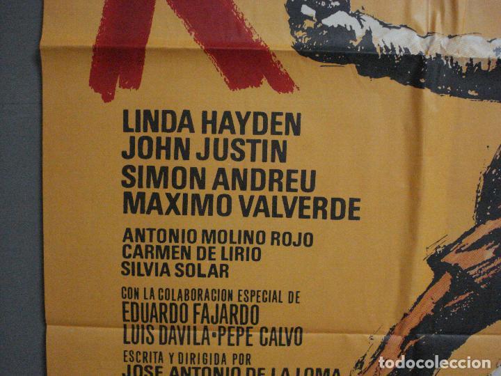 Cine: CDO 1326 RAZZIA (LA REDADA) JOSE ANTONIO DE LA LOMA MATAIX POSTER ORIGINAL 70X100 ESTRENO - Foto 3 - 200363538