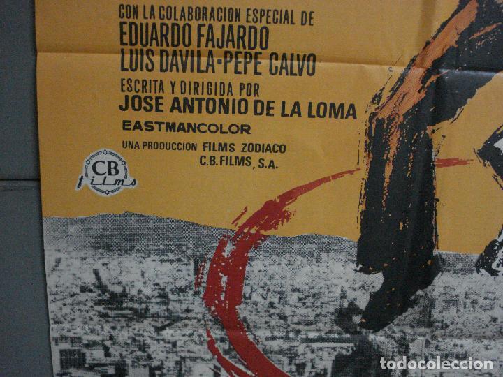 Cine: CDO 1326 RAZZIA (LA REDADA) JOSE ANTONIO DE LA LOMA MATAIX POSTER ORIGINAL 70X100 ESTRENO - Foto 4 - 200363538