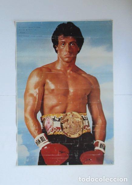 CARTEL POSTER: ROCKY - SYLVESTER STALLONE (Cine - Posters y Carteles - Deportes)