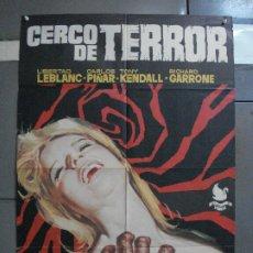 Cine: CDO 1334 CERCO DE TERROR LIBERTAD LEBLANC GIALLO HORROR POSTER ORIGINAL 70X100 ESTRENO. Lote 200519933