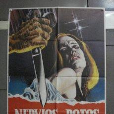 Cine: CDO 1341 NERVIOS ROTOS HAYLEY MILLS MAURO POSTER ORIGINAL 70X100 ESTRENO. Lote 200524820