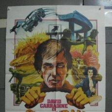 Cine: CDO 1344 CANNONBALL PAUL BARTEL DAVID CARRADINE AUTOMOVILISMO POSTER ORIGINAL 70X100 ESTRENO. Lote 200526157