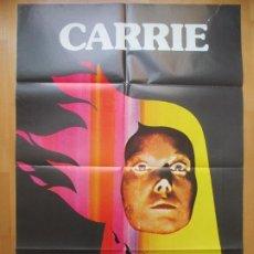 Cine: CARTEL CINE, CARRIE, SISSY SPACEK, JOHN TRAVOLTA, PIPER LAURIE, 1978, C1586. Lote 213585111