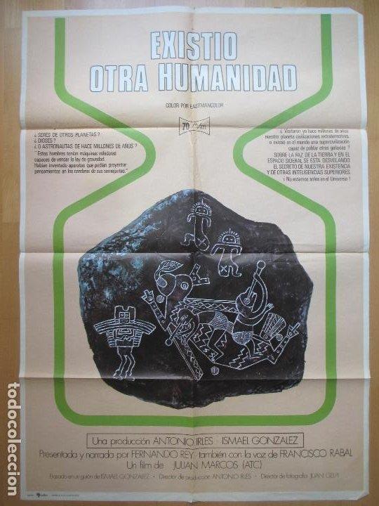 CARTEL CINE, EXISTIO OTRA HUMANIDAD, ANTONIO IRLES, 1975, C1845 (Cine - Posters y Carteles - Documentales)