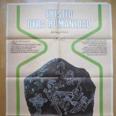 Cine: CARTEL CINE, EXISTIO OTRA HUMANIDAD, ANTONIO IRLES, 1975, C1845. Lote 200608217