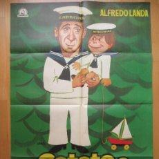 Cine: CARTEL CINE, CATETO A BABOR, ALFREDO LANDA, FLORINDA CHICO, JOSE SACRISTAN, JANO 1970, C1855. Lote 200612868