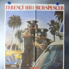 Cine: POSTER - DOS SUPERPOLICIAS EN MIAMI, BUD SPENCER, TERENCE HILL - AÑO 1985. Lote 200795318