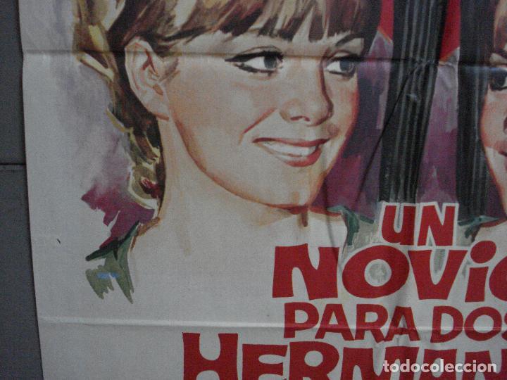 Cine: CDO 1462 UN NOVIO PARA DOS HERMANAS PILI Y MILI LUIS CESAR AMADORI JANO POSTER ORIG 70X100 ESTRENO - Foto 4 - 201208083