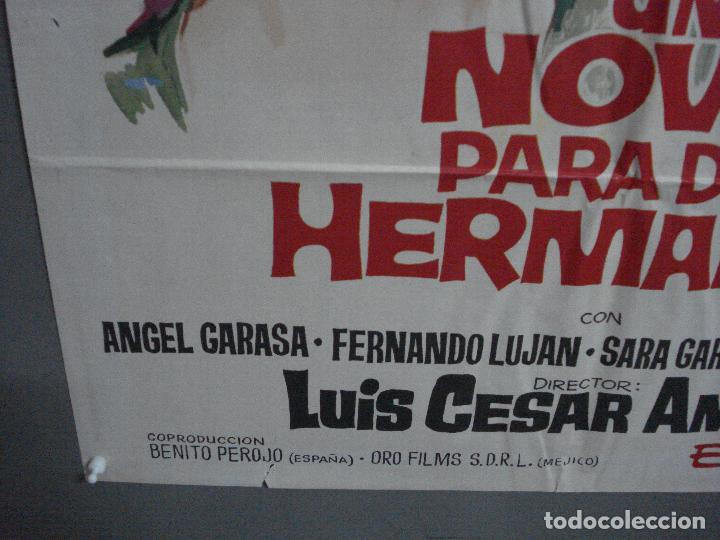 Cine: CDO 1462 UN NOVIO PARA DOS HERMANAS PILI Y MILI LUIS CESAR AMADORI JANO POSTER ORIG 70X100 ESTRENO - Foto 5 - 201208083