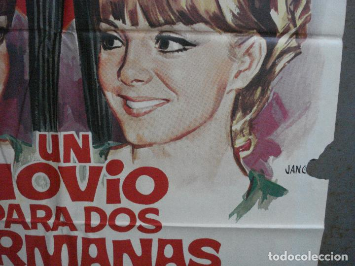 Cine: CDO 1462 UN NOVIO PARA DOS HERMANAS PILI Y MILI LUIS CESAR AMADORI JANO POSTER ORIG 70X100 ESTRENO - Foto 8 - 201208083