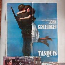 Cine: ANTIGUO CARTEL CINE YANQUIS + 12 FOTOCROMOS 1980 CC68. Lote 201208631