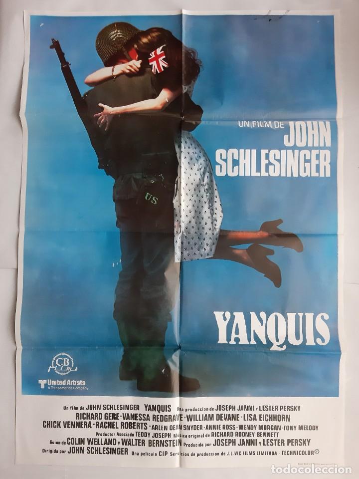Cine: ANTIGUO CARTEL CINE YANQUIS + 12 FOTOCROMOS 1980 CC68 - Foto 2 - 201208631