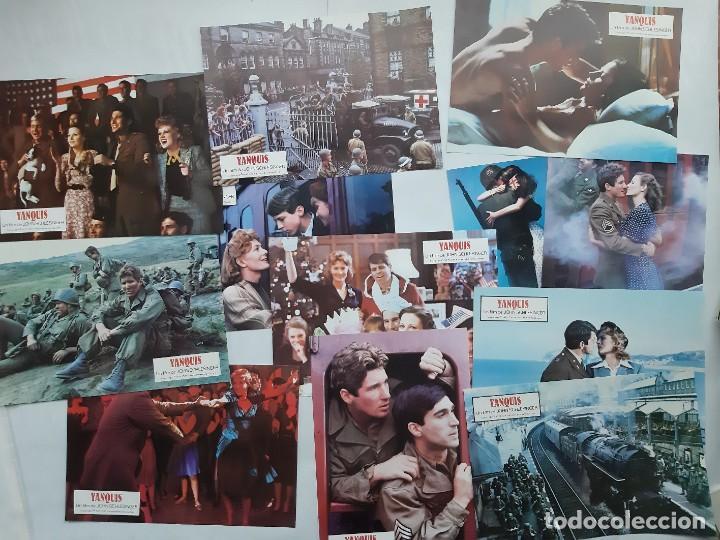 Cine: ANTIGUO CARTEL CINE YANQUIS + 12 FOTOCROMOS 1980 CC68 - Foto 3 - 201208631