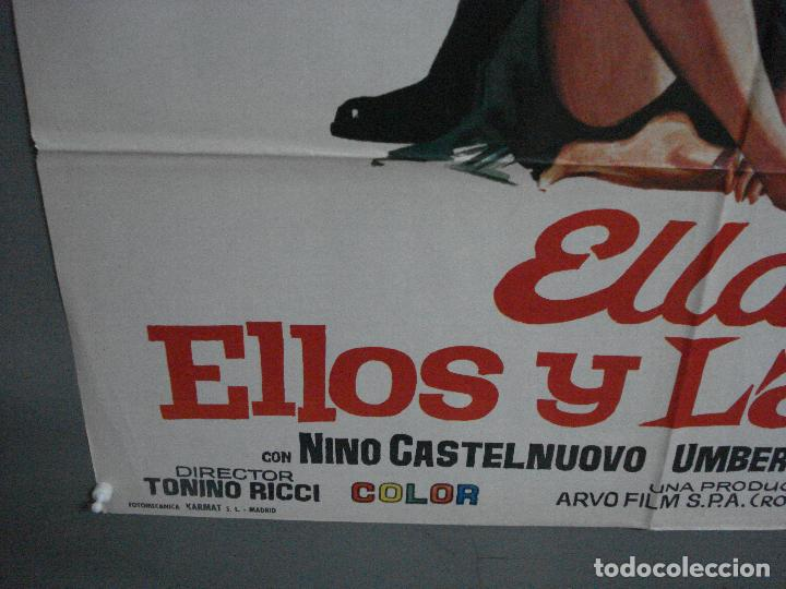 Cine: CDO 1465 ELLA ELLOS Y LA LEY LOPEZ VAZQUEZ JUANJO MENENDEZ TONINO RICCI JANO POSTER 70X100 ESTRENO - Foto 5 - 201208853