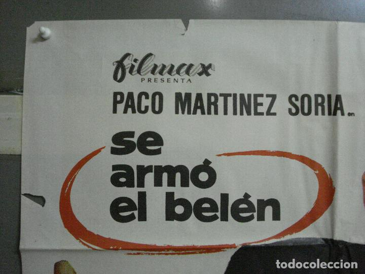 Cine: CDO 1469 SE ARMO EL BELEN PACO MARTINEZ SORIA MCP POSTER ORIGINAL ESTRENO 70X100 - Foto 2 - 201209452