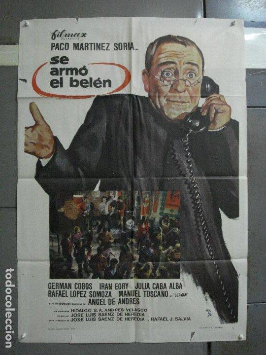 CDO 1469 SE ARMO EL BELEN PACO MARTINEZ SORIA MCP POSTER ORIGINAL ESTRENO 70X100 (Cine - Posters y Carteles - Clasico Español)