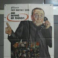 Cine: CDO 1469 SE ARMO EL BELEN PACO MARTINEZ SORIA MCP POSTER ORIGINAL ESTRENO 70X100. Lote 201209452