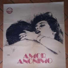 Cine: CARTEL DE LA PELÍCULA AMOR ANÓNIMO. 100 X 70 CM . Lote 201236837