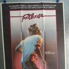 Cine: FOOTLOOSE. KEVIN BACON, LORI SINGER. AÑO 1984. POSTER ORIGINAL . Lote 201237061