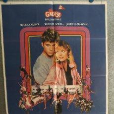 Cine: GREASE 2. MICHELLE PFEIFFER, MAXWELL CAULFIELD. AÑO 1982. POSTER ORIGINAL. Lote 201241457