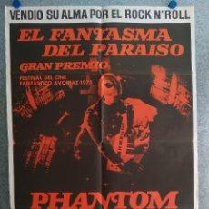 Cine: EL FANTASMA DEL PARAÍSO. BRIAN DE PALMA, PAUL WILLIAMS, JESSICA HARPER. AÑO 1975. POSTER ORIGINAL. Lote 201243030