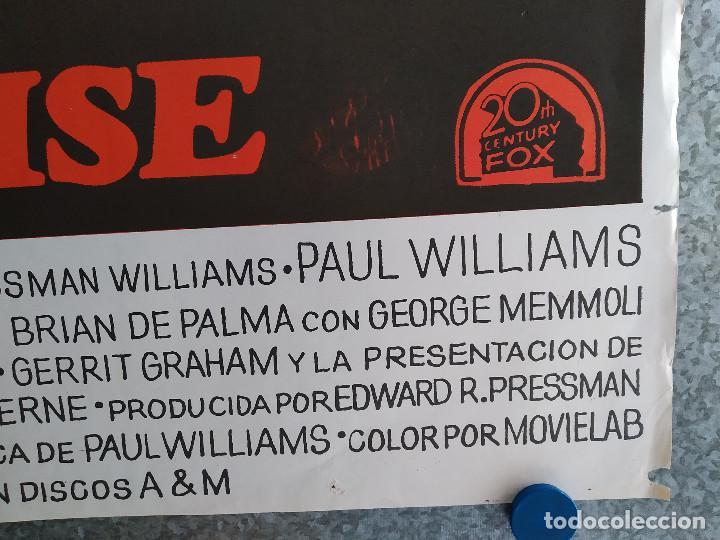 Cine: El fantasma del paraíso. Brian De Palma, Paul Williams, Jessica Harper. AÑO 1975. POSTER ORIGINAL - Foto 6 - 201243030