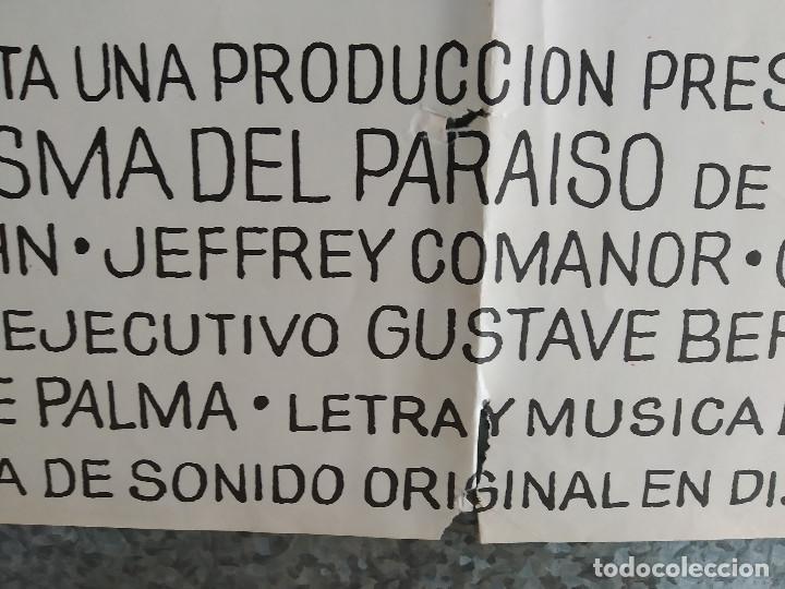 Cine: El fantasma del paraíso. Brian De Palma, Paul Williams, Jessica Harper. AÑO 1975. POSTER ORIGINAL - Foto 7 - 201243030