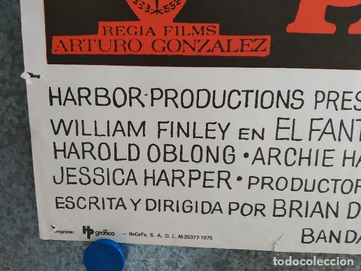 Cine: El fantasma del paraíso. Brian De Palma, Paul Williams, Jessica Harper. AÑO 1975. POSTER ORIGINAL - Foto 8 - 201243030