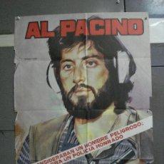 Cinéma: CDO 1485 SERPICO AL PACINO SIDNEY LUMET POSTER ORIGINAL 70X100 ESPAÑOL R-83. Lote 201313383