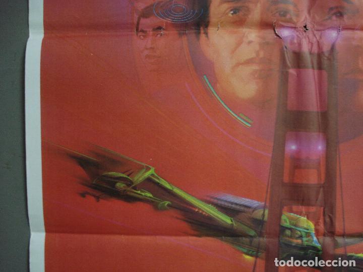 Cine: CDO 1493 STAR TREK 4 MISION SALVAR LA TIERRA WILLIAM SHATNER NIMOY BOB PEAK POSTER 70X100 ESTRENO - Foto 3 - 201315055