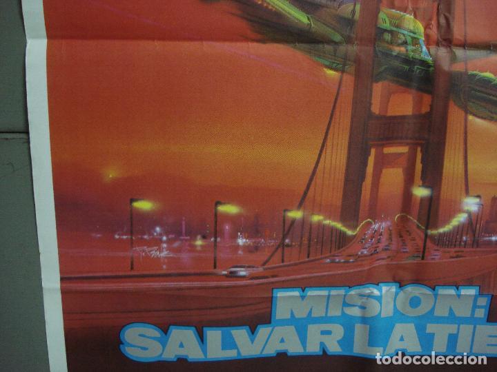 Cine: CDO 1493 STAR TREK 4 MISION SALVAR LA TIERRA WILLIAM SHATNER NIMOY BOB PEAK POSTER 70X100 ESTRENO - Foto 4 - 201315055