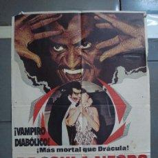 Cine: CDO 1498 DRACULA NEGRO VAMPIROS BLAXPLOITATION ORIGINAL 70X100 DE ESTRENO. Lote 201315575