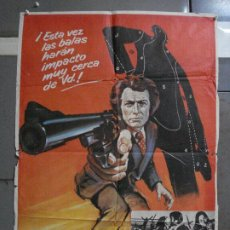 Cine: CDO 1513 HARRY EL FUERTE DIRTY HARRY 2ND FILM CLINT EASTWOOD MCP POSTER ORIGINAL ESTRENO 70X100. Lote 201321668