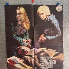 Cine: TERROR SIN HABLA. RUPERT DAVIES, SHEILA KEITH AÑO 1975 POSTER ORIGINAL. Lote 201524282