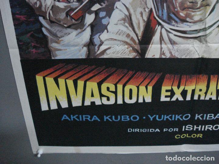Cine: CDO 1612 INVASION EXTRATERRESTRE ISHIRO HONDA TOHO MONSTRUOS JAPONESES MAC POSTER ORIG 70X100 ESTREN - Foto 5 - 201616903