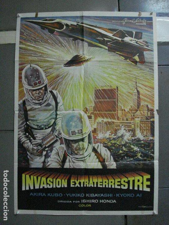 CDO 1612 INVASION EXTRATERRESTRE ISHIRO HONDA TOHO MONSTRUOS JAPONESES MAC POSTER ORIG 70X100 ESTREN (Cine - Posters y Carteles - Ciencia Ficción)