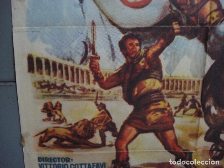 Cine: CDO 1690 LA REBELION DE LOS GLADIADORES GIANNA MARIA CANALE MARA CRUZ PEPLUM POSTER 70X100 ESPAÑOL - Foto 4 - 201750700
