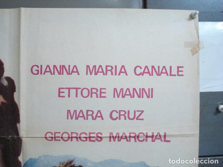 Cine: CDO 1690 LA REBELION DE LOS GLADIADORES GIANNA MARIA CANALE MARA CRUZ PEPLUM POSTER 70X100 ESPAÑOL - Foto 6 - 201750700