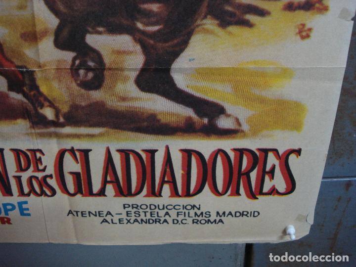 Cine: CDO 1690 LA REBELION DE LOS GLADIADORES GIANNA MARIA CANALE MARA CRUZ PEPLUM POSTER 70X100 ESPAÑOL - Foto 9 - 201750700