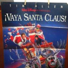 Cine: ¡VAYA SANTA CLAUS! PÓSTER ORIGINAL 98X68CM (1994) TIM ALLEN. Lote 201759381