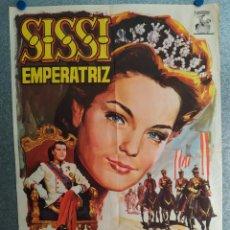 Cine: SISSI EMPERATRIZ. ROMY SCHNEIDER, KARLHEINZ BÖHM. AÑO 1969. POSTER ORIGINAL. Lote 269096698