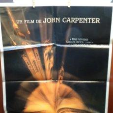 Cine: EN LA BOCA DEL MIEDO PÓSTER ORIGINAL 98X68CM (1994) SAM NEILL, CHARLTON HESTON. Lote 201761155