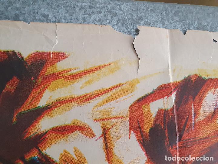 Cine: La saga de los Drácula. Tina Sáinz, Tony Isbert, Narciso Ibáñez Menta . AÑO 1973. POSTER ORIGINAL - Foto 3 - 201772276